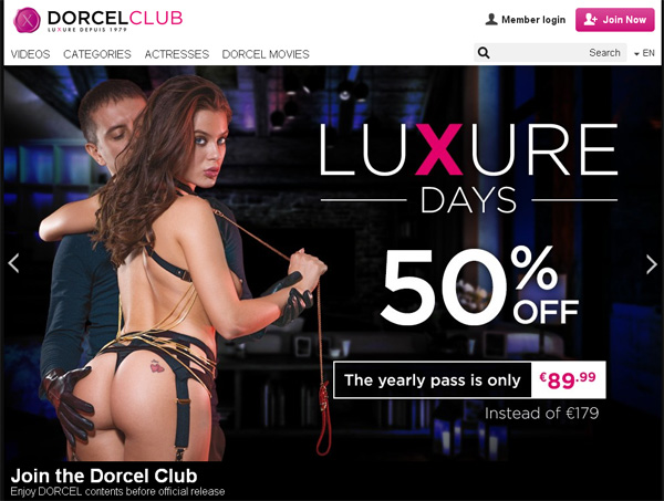 Club Dorcel Accounts