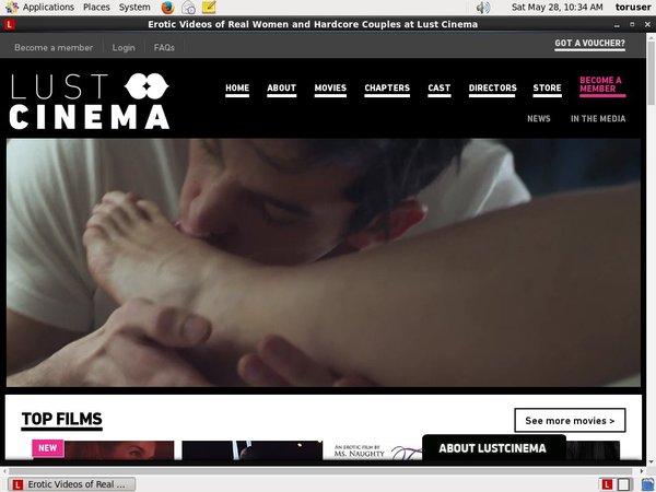 Free Working Lustcinema.com Account