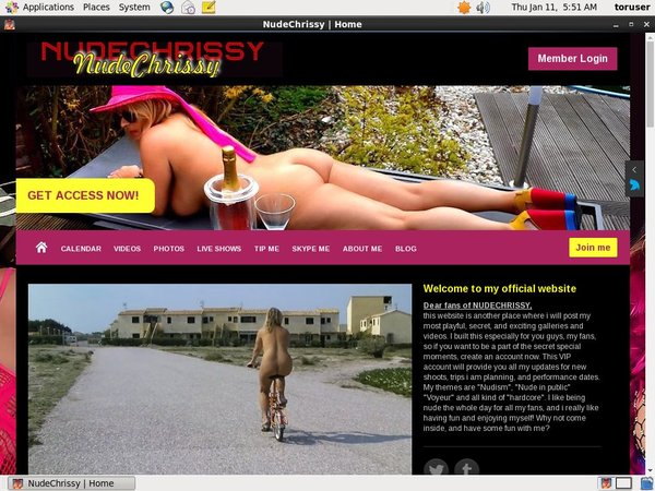 Nude Chrissy Discount Site