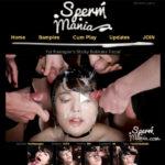 Sperm Mania With Amex