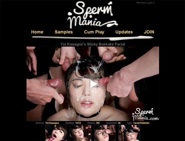 Spermmania With Prepaid Card
