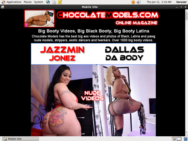 Discount Codes Chocolate Models