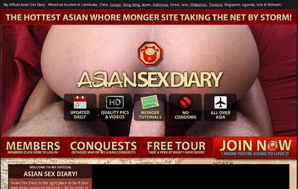 Get A Free Asiansexdiary Login