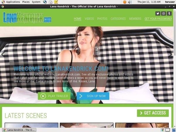 Lanakendrick.com Discount Coupon