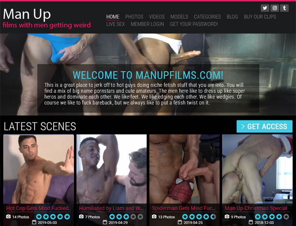 Sign Up For Man Up Films