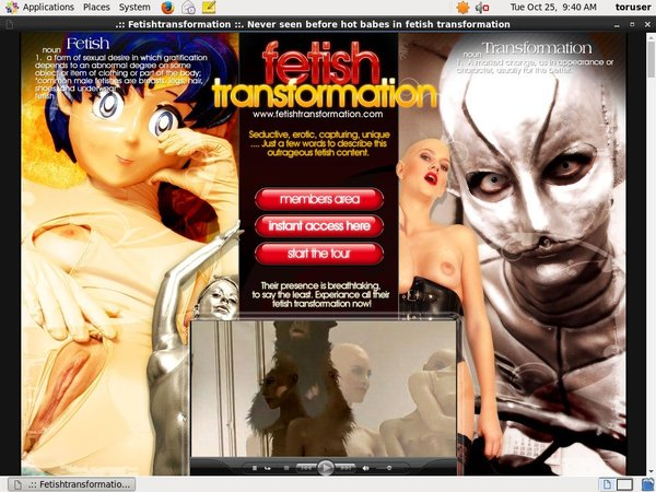 Fetish Transformation Full Movie