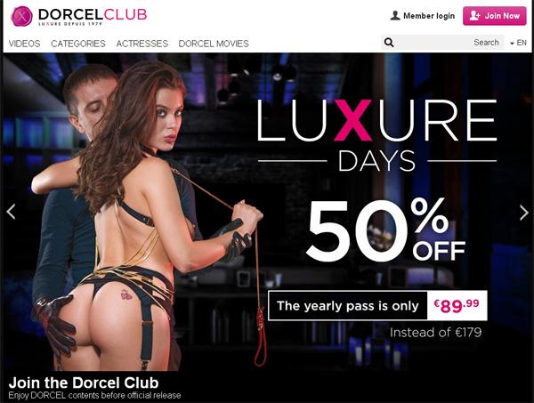 Free Accounts For Dorcelclub.com