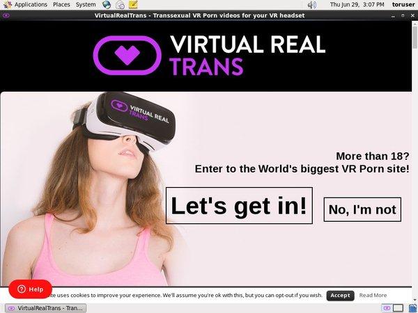 Virtual Real Trans Discount Membership